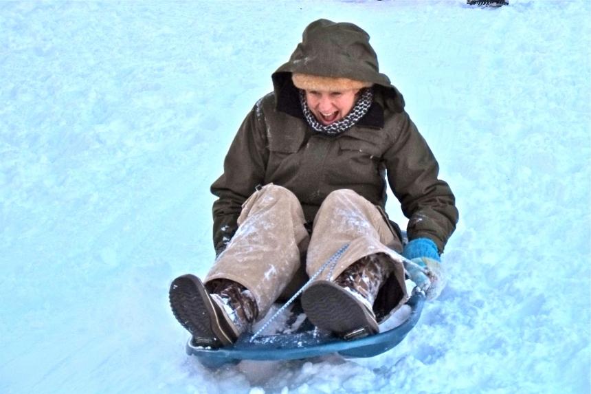 sledding-east-gloucester-kids-bass-rocks-dawn-5-copyright-kim-smith