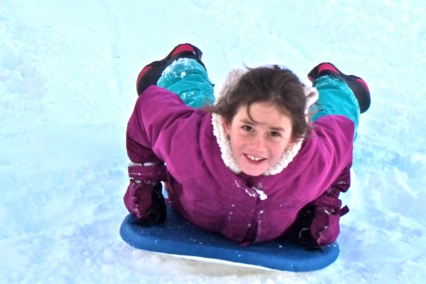sledding-east-gloucester-kids-bass-rocks-esme-2-copyright-kim-smith