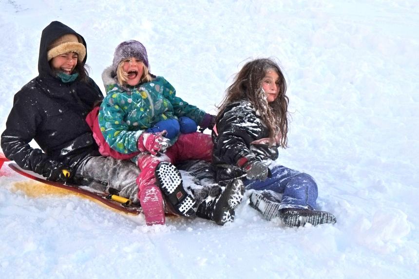 sledding-east-gloucester-kids-bass-rocks-esme-copyright-kim-smith