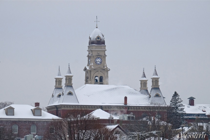 gloucester-harbor-city-hall-snowy-day-copyright-kim-smith
