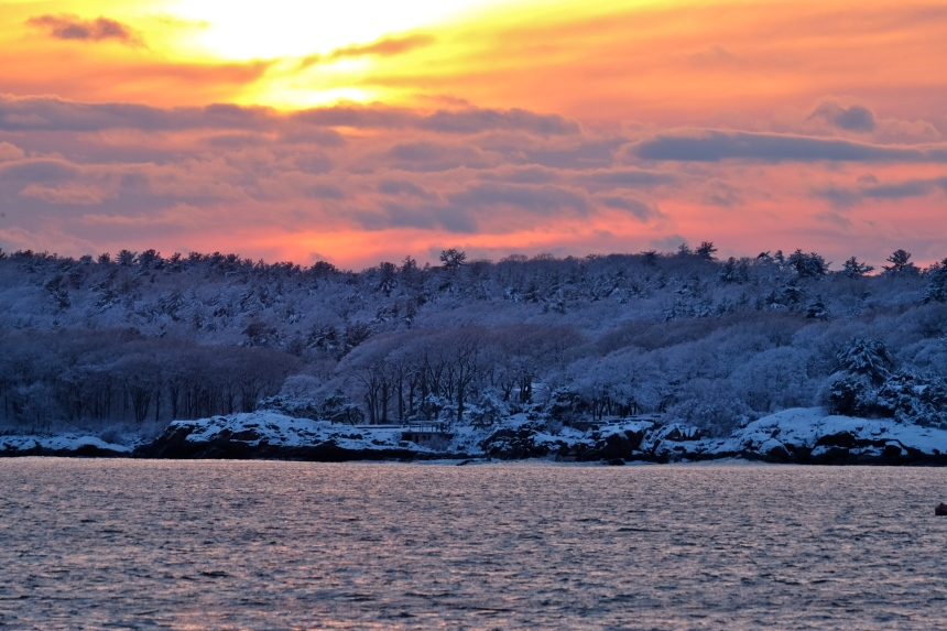 gloucester-snow-sunset-copyright-kim-smith