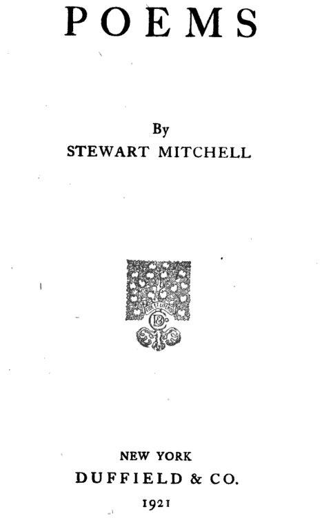 poems-by-stewart-mitchell