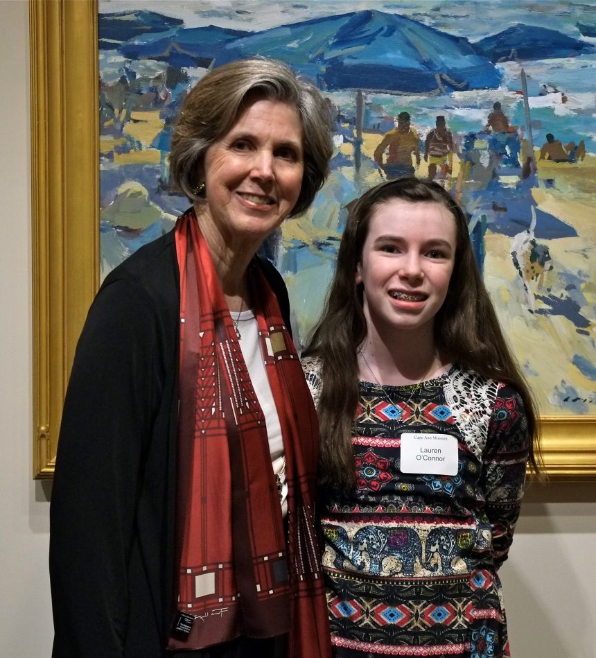 charles-movalli-exhibit-cape-ann-museum-dale-movalli-granddaughter-lauren-oconnor-copyright-kim-smith