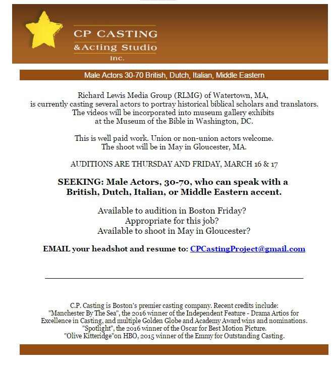 Meg CP Casting