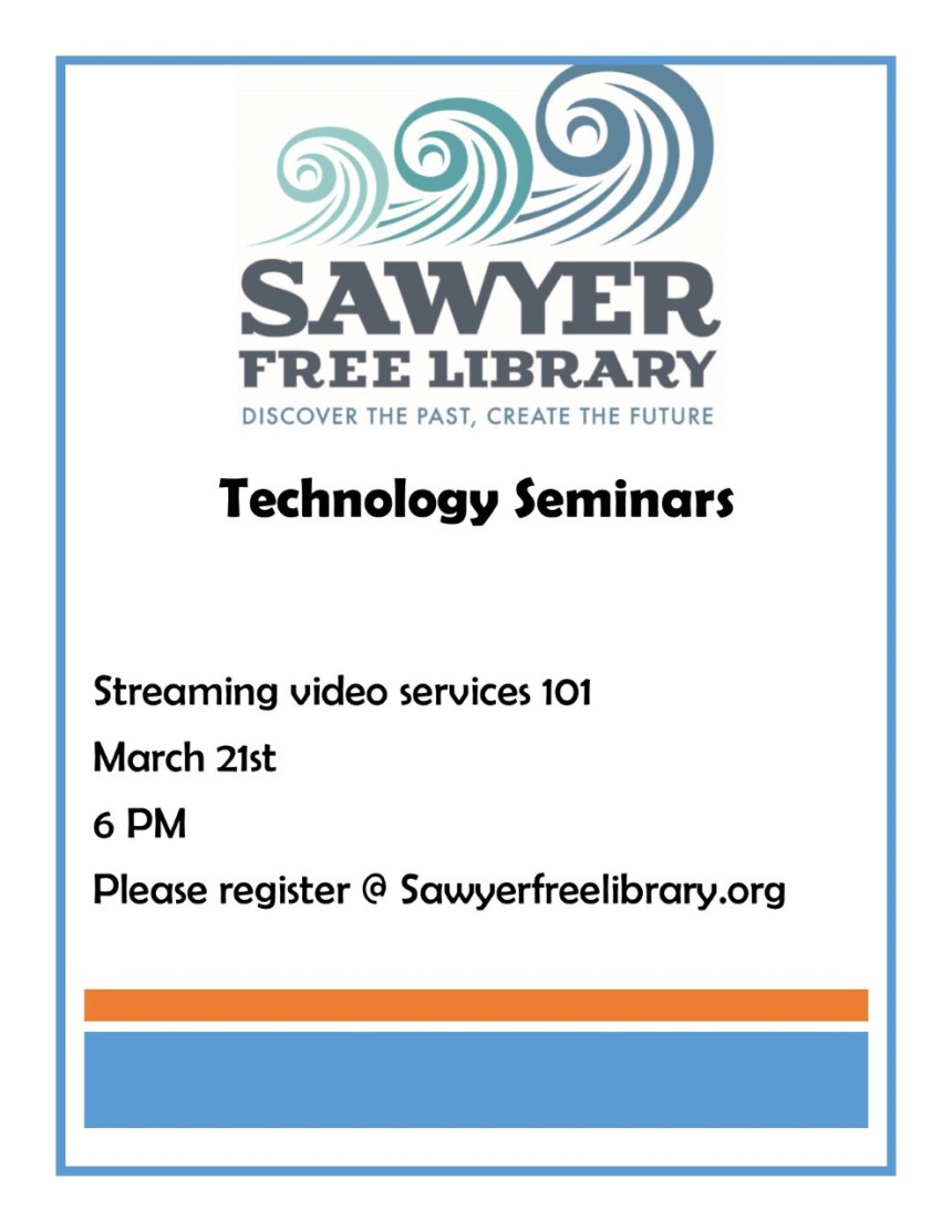 Tech Seminar Streaming Video March 17