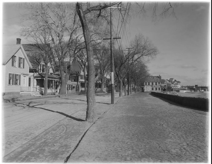 looking east along what would become stacy blvd with the beach hidden from view ont he right 2 aag title