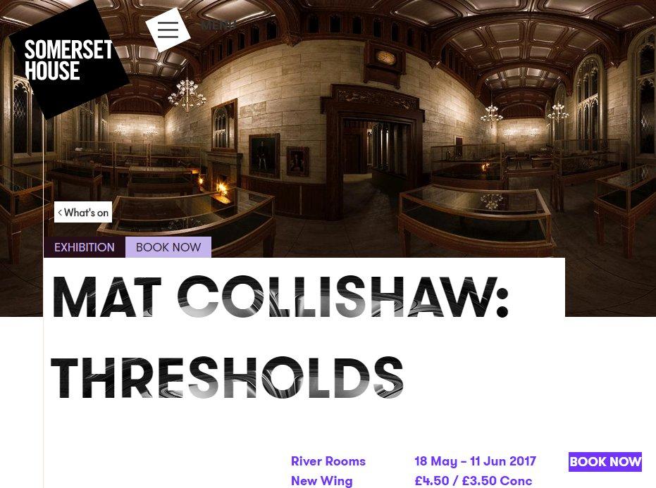 May 18 Mat Collishaw Thresholds May 18
