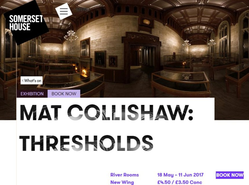 May 18 Mat Collishaw Thresholds May 18