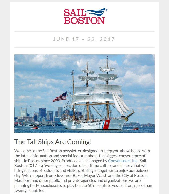 sailboston sign up for updates