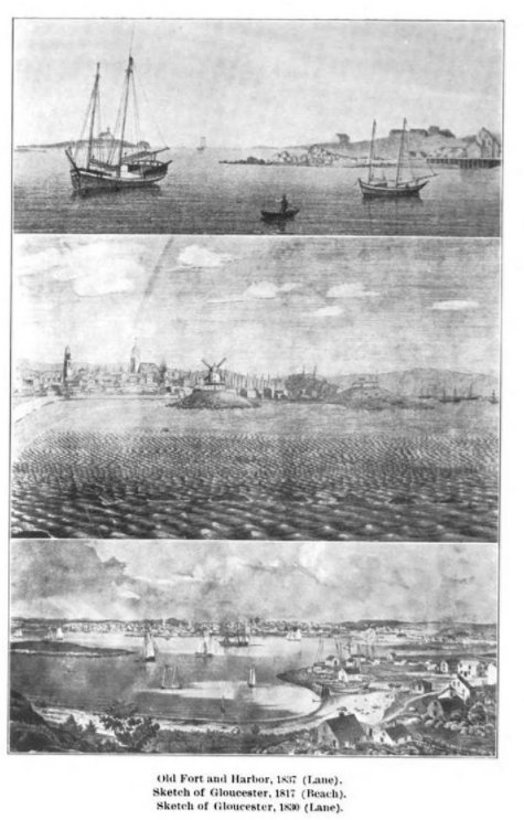 1892 art and loan on exhibit for Gloucester MA 250th