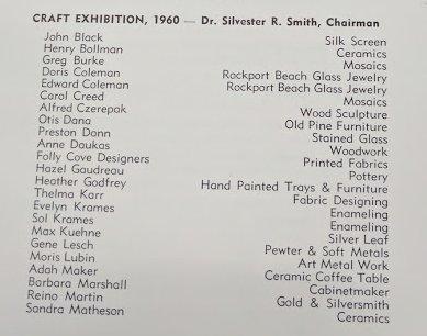 1960 craft exhibition