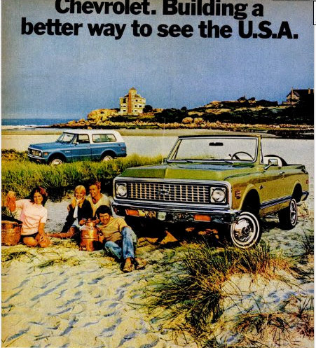1972 chevrolet mag ad good harbor beach