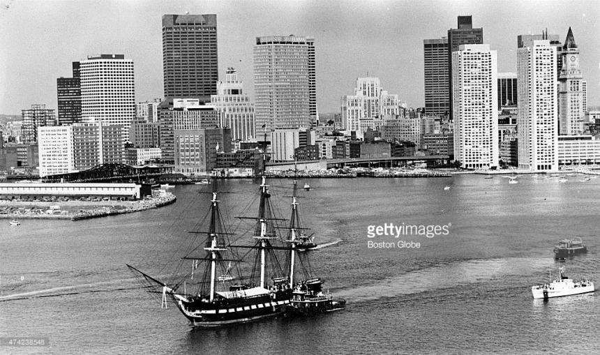 boston built uss constitution