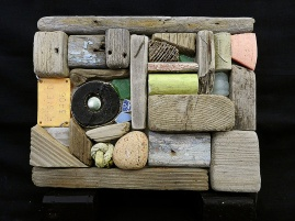 Driftwood Collage by Richard Honan