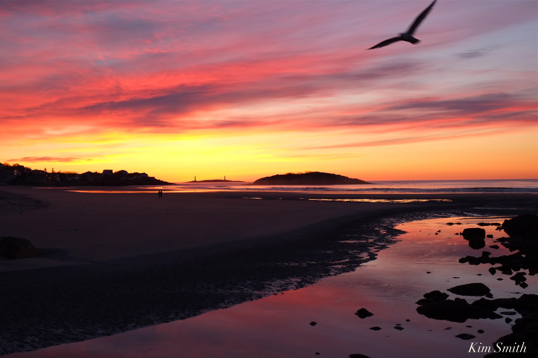 Good Harbor Beach sunrise   GoodMorningGloucester