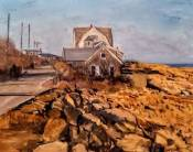 "Stephen LaPierre, Eden Road, oil on canvas, 12"" x 16"" ~ $1500"