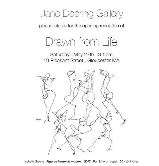 Jane Deering Drawn from Life