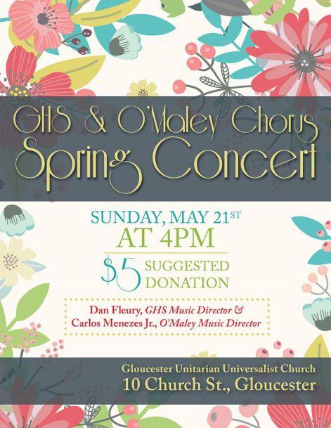 omaley chorus spring chorus
