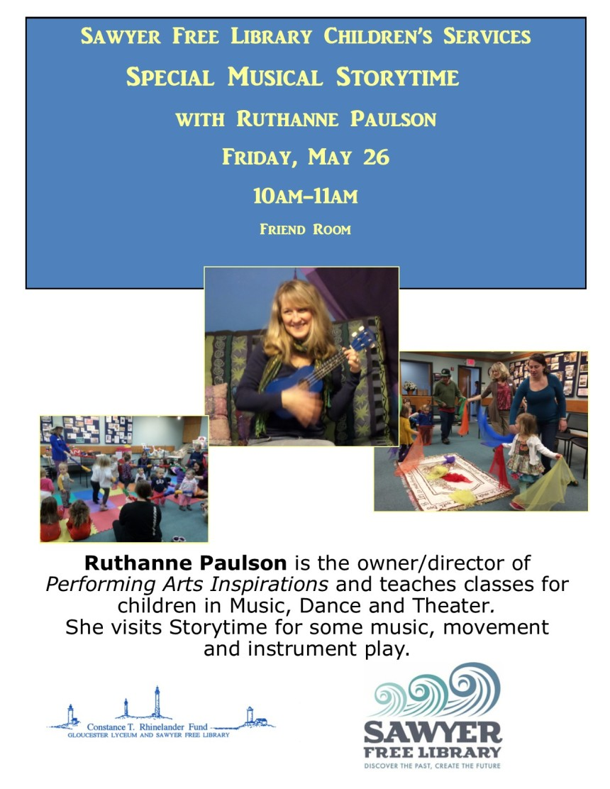 Ruthanne Paulson Storytime May 2017