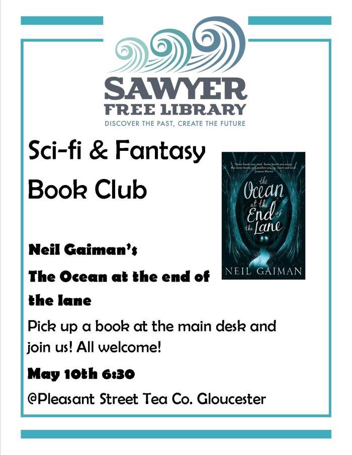 Sci Fi & Fantasy Book Club May