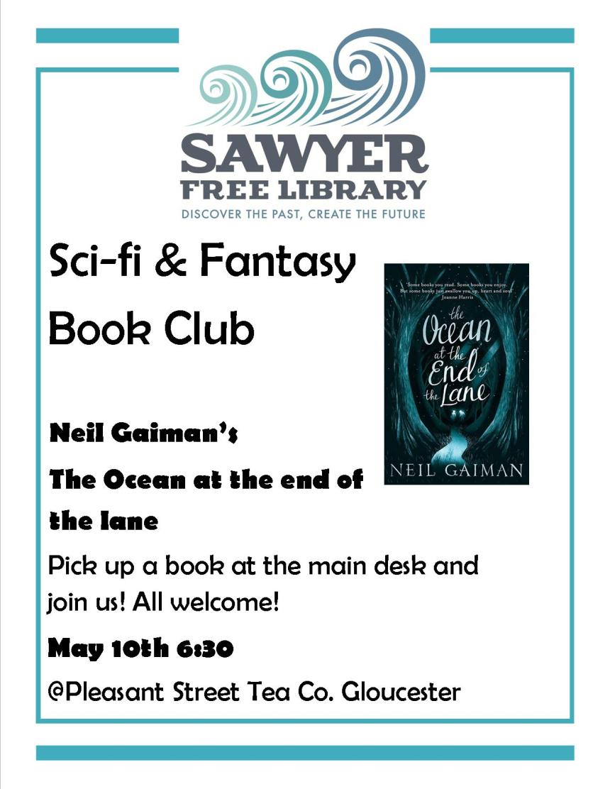 Sci Fi & Fantasy Book Club May