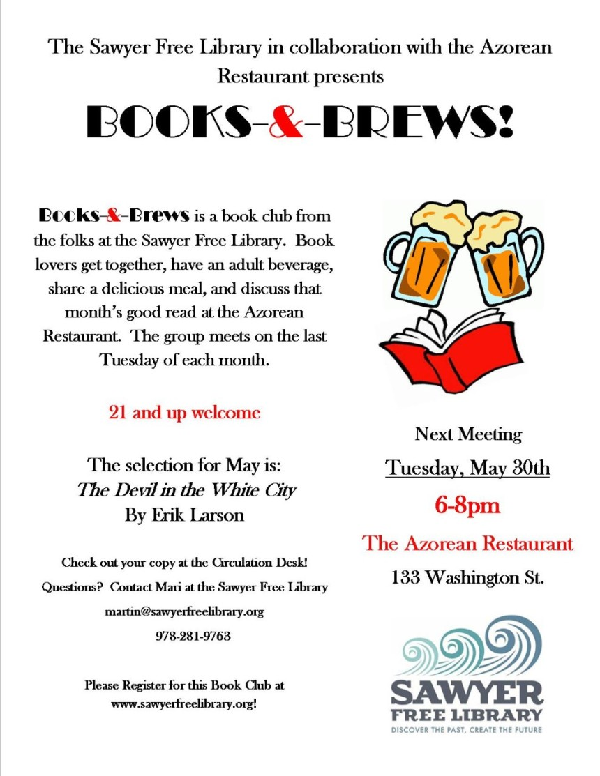 thumbnail_Books and Brews May 2017 flyer