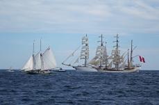 170622 Sail Boston fleet leaving Cape Ann for Halifax (9a)