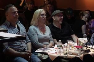 Brian Alex, Susan Coviello, and Brian King