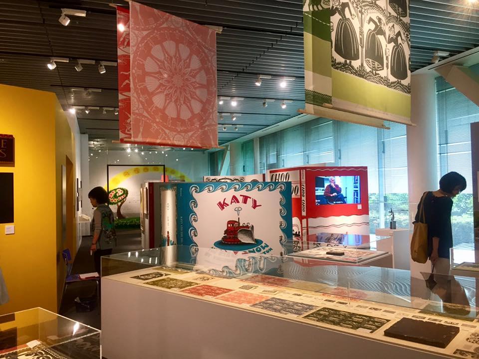 Gallery A4 Tokyo exhibit Virginia Lee Burton