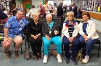 Rosie Verga, Sara Favazza, Marie Linquata, Bea Ciaramitaro, Agnes Burnham, James Burnham copyright Kim Smith