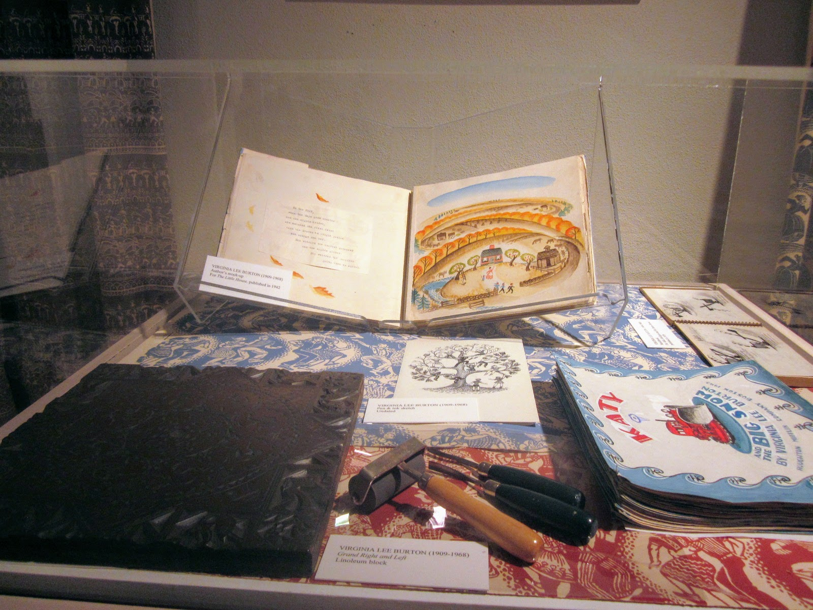 Virginia Lee Burton display at CAM 2011