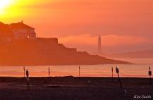 Good Harbor Beach sunrise July 18 -3 copyright Kim Smith