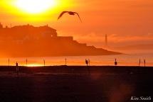 Good Harbor Beach sunrise July 18 -4 copyright Kim Smith