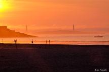 Good Harbor Beach sunrise July 18 -5 copyright Kim Smith