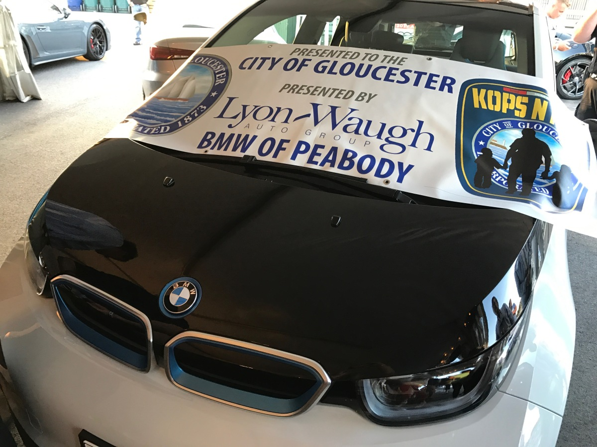 lyon waugh auto group gifts two bmw i3s to the city of gloucester goodmorninggloucester. Black Bedroom Furniture Sets. Home Design Ideas