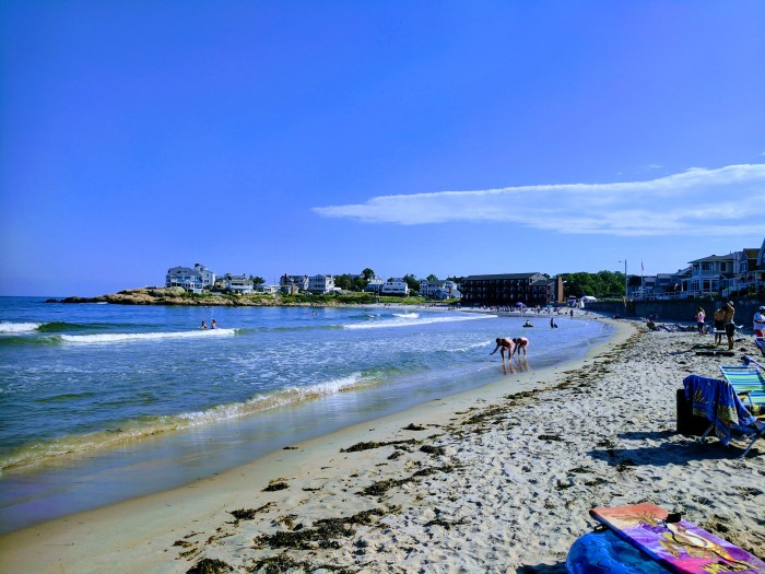 Long Beach July 15 2017 looking back to Gloucester side