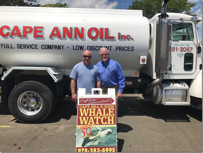 Mark Cunningham and Tim Sanborn
