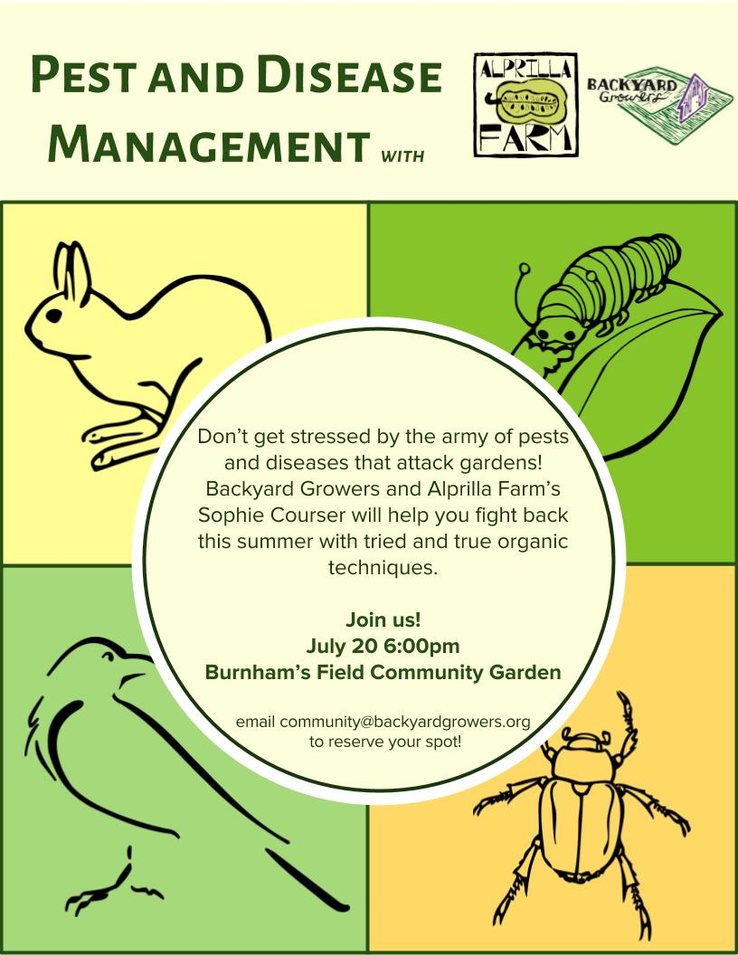Pest and disease management (1)