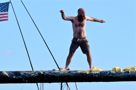 Saturday Greasy Pole 2017 -15 copyright Kim Smith
