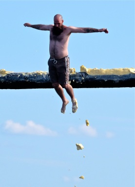 Saturday Greasy Pole 2017-18 copyright Kim Smith