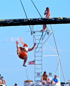 Saturday Greasy Pole 2017 -28 copyright Kim Smith