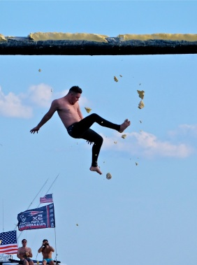 Saturday Greasy Pole 2017 -71 copyright Kim Smith