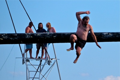 Saturday Greasy Pole 2017 -77 copyright Kim Smith