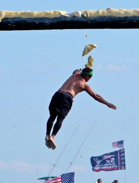 Saturday Greasy Pole 2017 -9 copyright Kim Smith