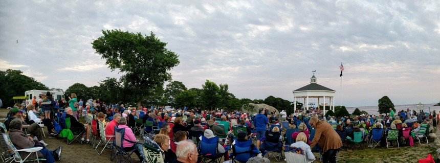Stage Fort Bark summer concert series beatles tribute band July 2017