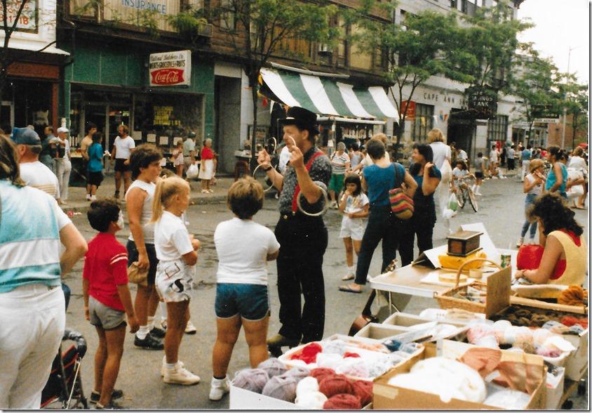 1986 Street Fair in Gloucester