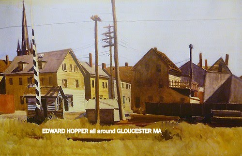 Edward Hopper Railroad Gates Gloucester MA