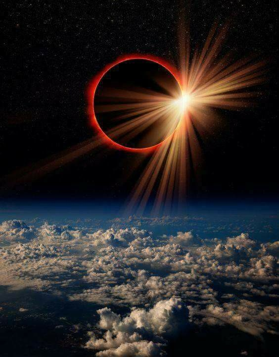 NASA view of Solar Eclipse 2017