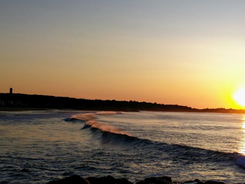 sun rise surf spray sun catcher