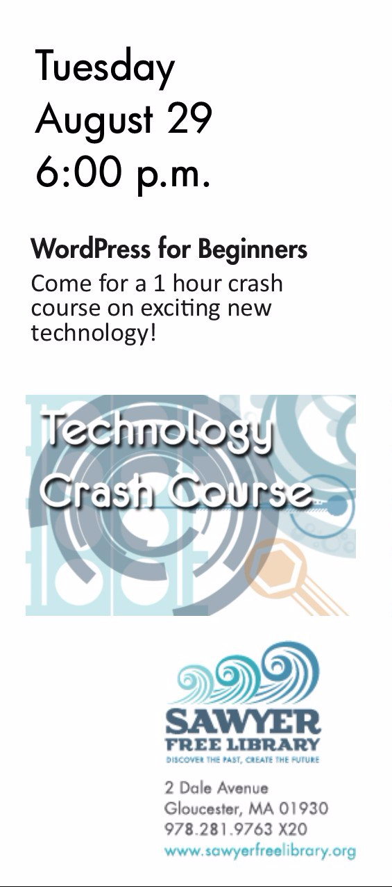 Tech Crash Course August29 WordPress